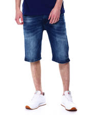 Akademiks - Blueprint wash denim short-2477381