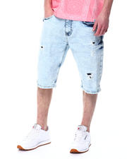 Akademiks - Rain wash denim short-2477404