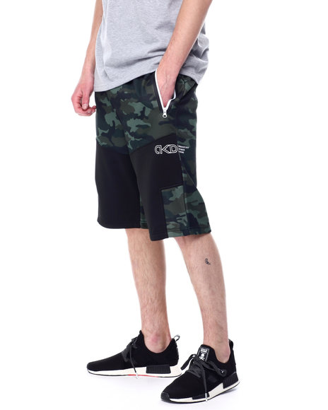 Akademiks - Colorblock Tech Fleece Short