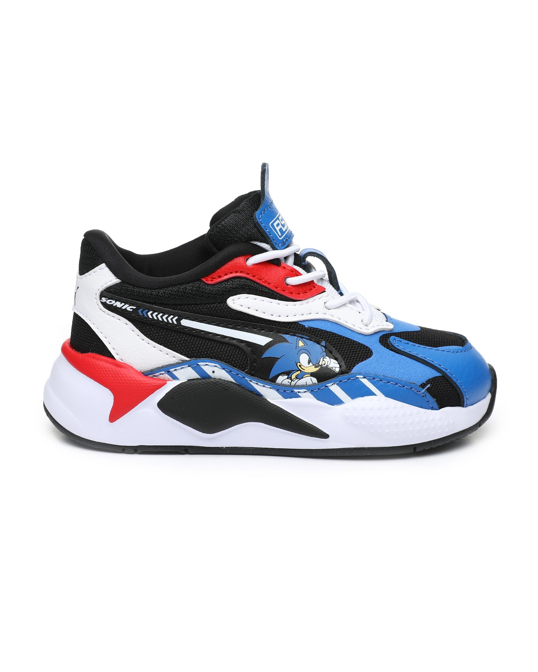 Buy Puma x Sega RS-X3 Sonic Sneakers (4-10) Boys Footwear ...
