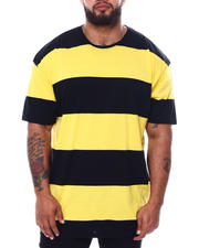 Men - Short Sleeve Crew Rugby Stripe T-Shirt (B&T)-2474378