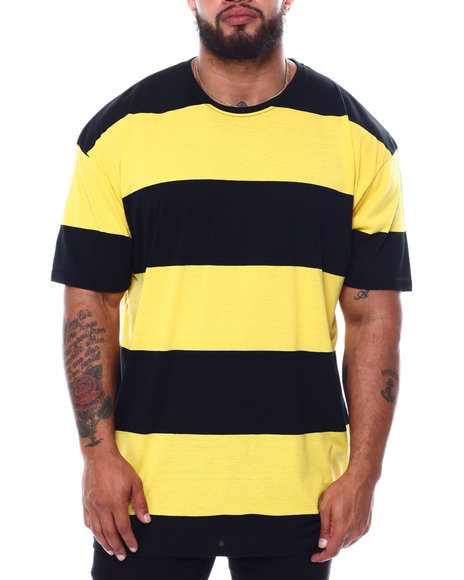 Buyers Picks - Short Sleeve Crew Rugby Stripe T-Shirt (B&T)