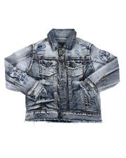 Outerwear - Denim Trucker Jacket (2T-7)-2476299