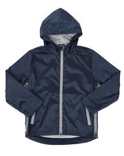 Outerwear - Zip Side Hooded Windbreaker Jacket (8-16)-2476449