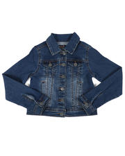 Vigoss Jeans - Denim Trucker Jacket (7-14)-2476137