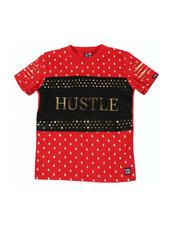 Tops - Printed Hustle Foil Tee (8-18)-2477113