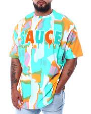 Big & Tall Faves - Sauce Tie Dye Short Sleeve T-Shirt (B&T)-2475930