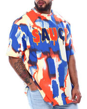 Men - Sauce Tie Dye Short Sleeve T-Shirt (B&T)-2476090
