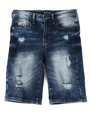 Southpole - Ripped Stretch Denim Shorts (8-18)-2477029