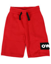 Southpole - Chenille Patch Tech Fleece Shorts (8-20)-2477043