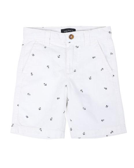 Nautica - Nautica Flat Front Shorts (4-7)