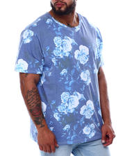 Short-Sleeve - Moon Rose All Over Print Faded T-Shirt (B&T)-2478405