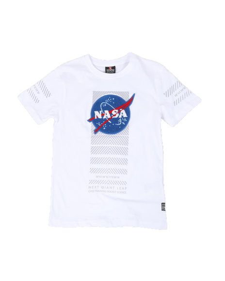 Southpole - Southpole x Nasa Chenille Patch Next Giant Leap Tee (8-20)