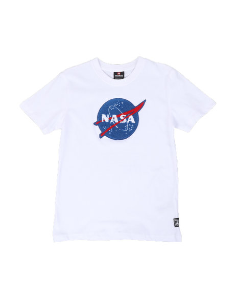 Southpole - Southpole x Nasa Chenille Patch & Back Print Tee (8-20)