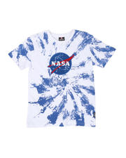 Tops - Southpole x Nasa Chenille Patch Tie Dye Tee (8-20)-2475132