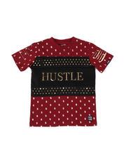 Phat Farm - Printed Hustle Foil Tee (4-7)-2477133