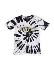 Tops - Tie Dye Tee W/ Hustle Embossed Foil (8-18)-2474194