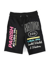 Parish - Fleece Shorts (4-7)-2474199