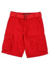Shorts - Belted Cargo Shorts (8-18)-2474270