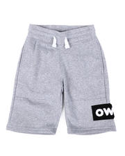 Southpole - Chenille Patch Tech Fleece Shorts (8-20)-2475187