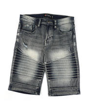 Southpole - Stretch Moto Denim Shorts (8-18)-2475222