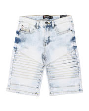 Southpole - Stretch Moto Denim Shorts (8-18)-2475229