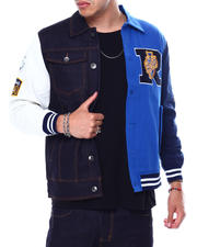 Outerwear - Shosha Blue Jacket-2478233