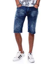 Akademiks - Highway wash denim short-2478354
