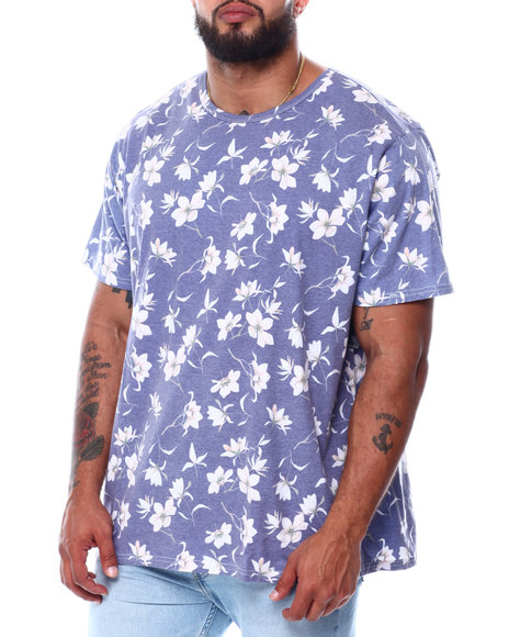 Buyers Picks - Starlight Floral All Over Print Faded T-Shirt (B&T)