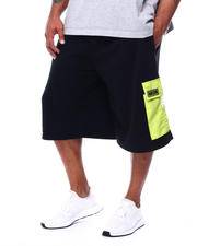 Akademiks - Fleece Shorts (B&T)-2478430