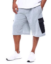 Akademiks - Fleece Shorts (B&T)-2478441