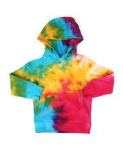 Hoodies - Tie Dye French Terry Hoodie (2T-10)-2476418