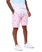 Spring-Summer-M - Palm Tree and Flamingo Short-2478717