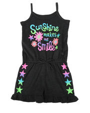 Rompers - Sunshine Makes Me Smile Print Romper (4-6X)-2477888