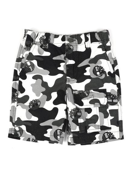 Timberland - Timberland Camo Utility Shorts (4-7)