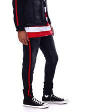 Jordan Craig - Side Stripe distressed stretch jean-2478877