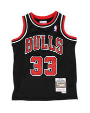 Sizes 8-20 - Big Kids - Swingman Jersey Chicago Bulls Alternate 1997-98 Scottie Pippen (8-20)-2477348