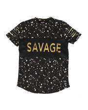 Phat Farm - Embossed Savage Foil Printed Tee (8-18)-2477515