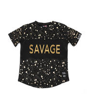 Phat Farm - Embossed Savage Foil Printed Tee (4-7)-2477543