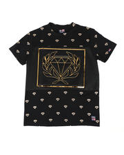 Phat Farm - Embossed Diamond Metallic Patch Tee (8-18)-2477600
