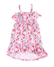 La Galleria - Fruit Print Dress W/ Ruffle Flounce (4-6X)-2477716