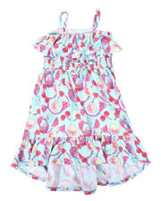 La Galleria - Fruit Print Dress W/ Ruffle Flounce (4-6X)-2477720