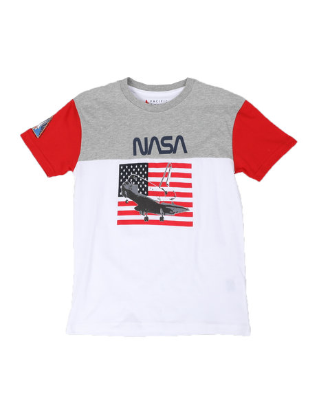 Arcade Styles - Nasa Color Block Tee (8-18)