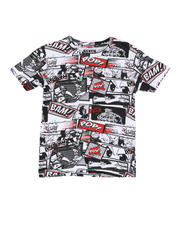 Arcade Styles - Comic All Over Printed Tee (8-18)-2477998