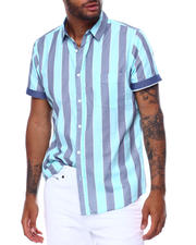 Mens-Holiday - Emeryville Stripe SS Woven Shirt-2478675
