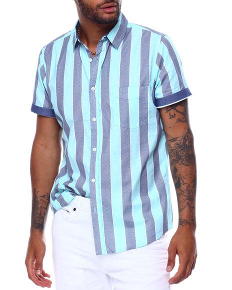 Buyers Picks - Emeryville Stripe SS Woven Shirt