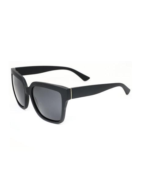 Buyers Picks - Oversized Polarized Black Frame Sunglasses