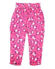 Girls - Paper Bag Waist Pants (4-6X)-2477724