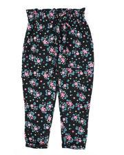 Bottoms - Paper Bag Waist Pants (4-6X)-2477732