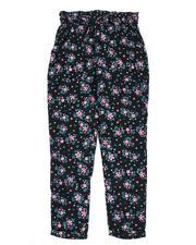 Sizes 7-20 - Big Kids - Paper Bag Waist Pants (7-16)-2477736